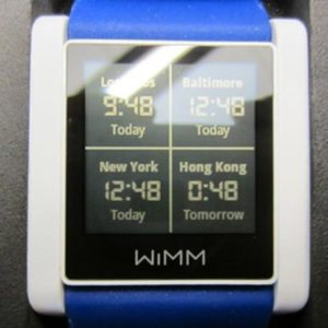 WIMM Labs Wearable Software Platform
