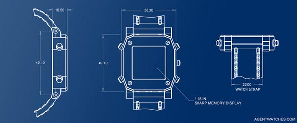 Agent Smartwatch Blueprints