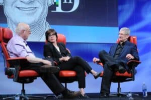 Apple CEO Tim Cook Discusses iWatch