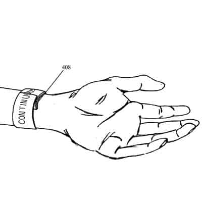 Apple iWatch Band Patent
