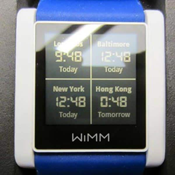 WIMM Labs Smartwatch Software