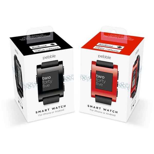 Pebble Smartwatch Boxed
