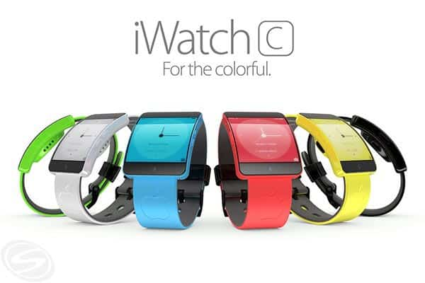 Apple iWatch Colorful Concept By Martin Hajek