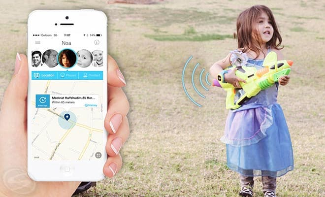 HereO Child GPS Watch Tracking