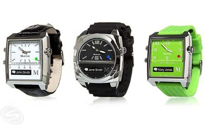 Martian Smartwatches