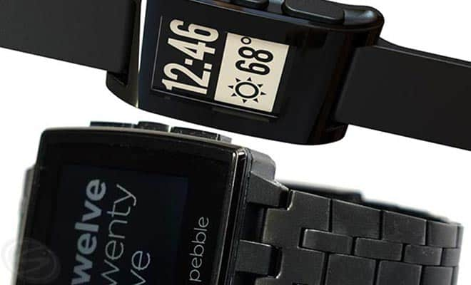 Pebble Watch and Pebble Steel
