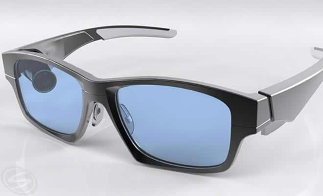 GlassUp AR Smart Glasses