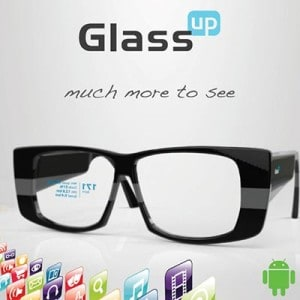 GlassUP Smart Glasses Prototype