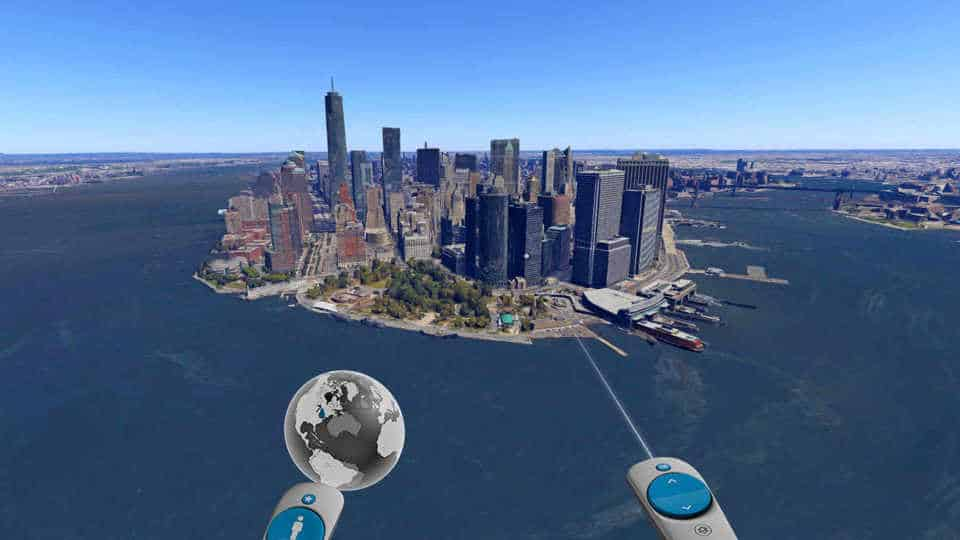 Google Earth VR, New York City