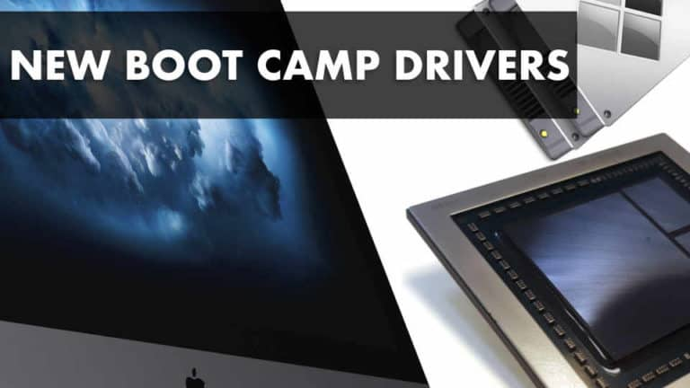 Apple Releases New Boot Camp Drivers For Windows 10