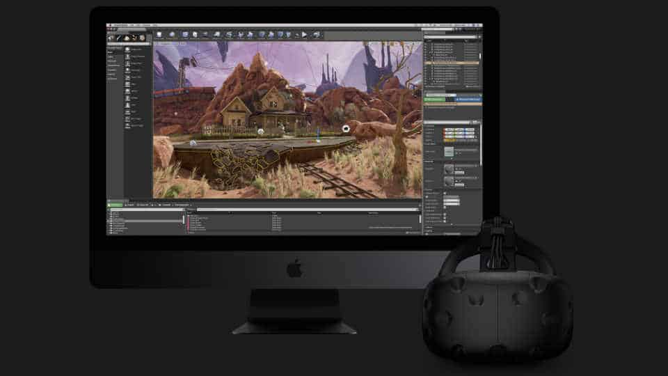 iMac Pro for Virtual Reality