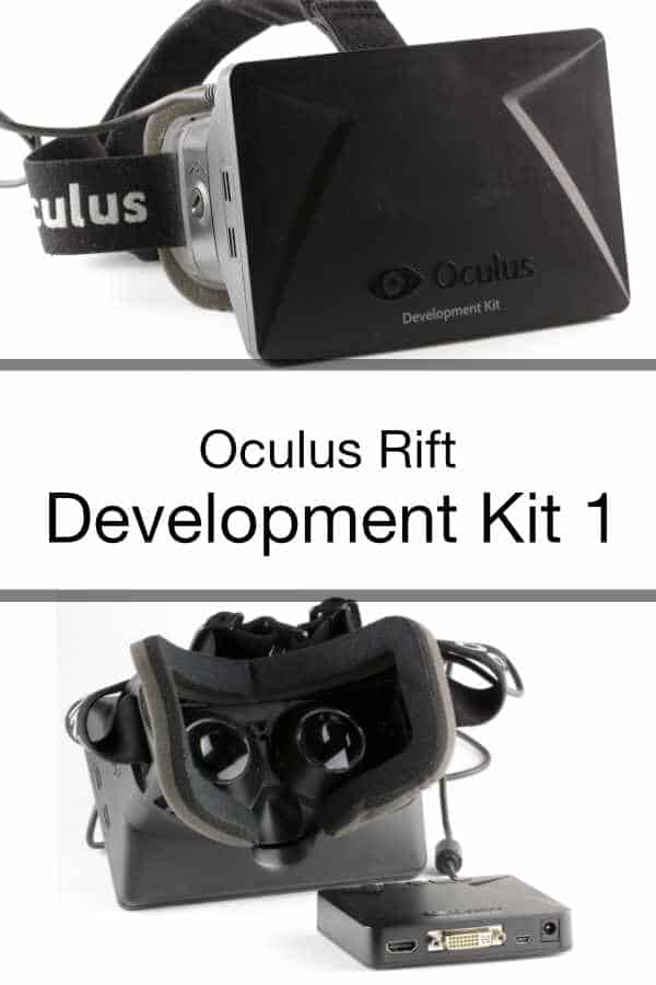 Oculus Rift VR Development Kit 1